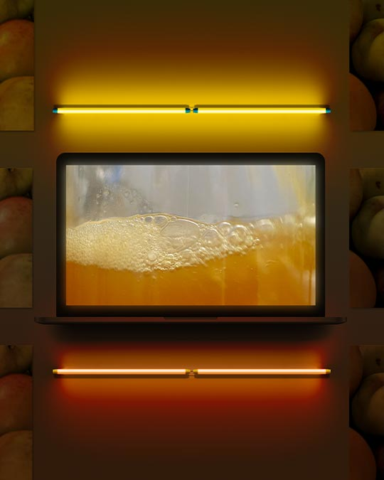 Vidéo du pressage des pommes
